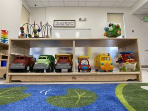 children's learning area - toys