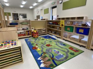children's learning area - play area